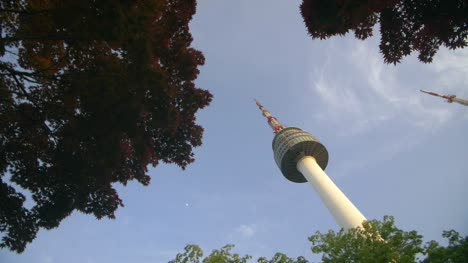 Rotating-Shot-of-N-Seoul-Tower