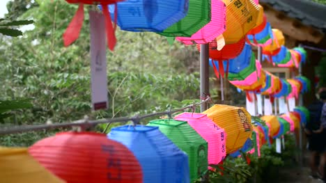 Colourful-Korean-Lanterns