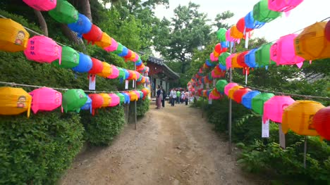 Path-with-Colourful-Paper-Lanterns