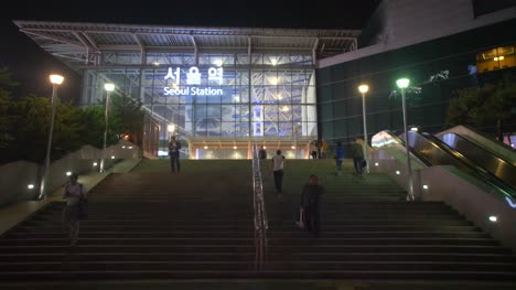 Seoul-Station-at-Night