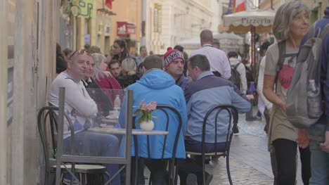 People-Sat-Outside-Cafe-in-Rome