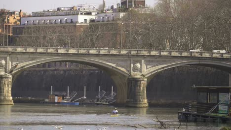 Rowing-Along-The-River-Tiber