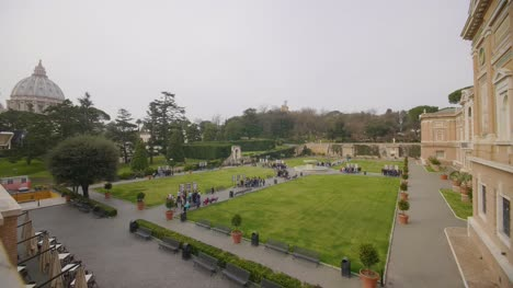 Gardens-Behind-Vatican-City