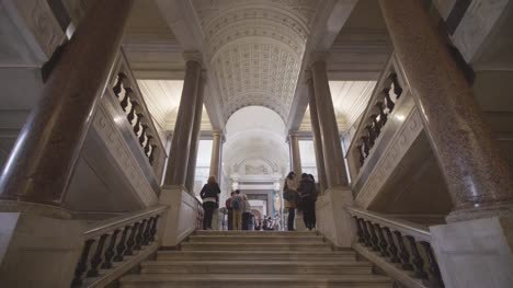 Walking-Into-The-Vatican-Museum