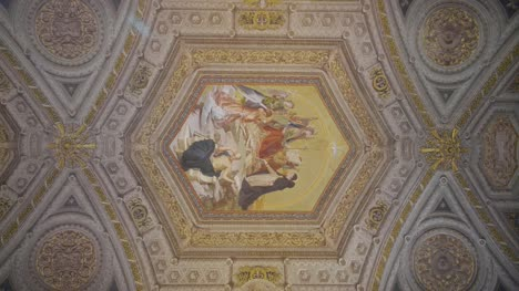 Ceiling-Artwork-At-The-Candelabra-Gallery
