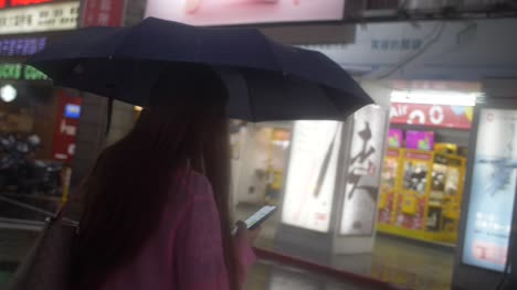 Woman-Walking-In-The-Rain