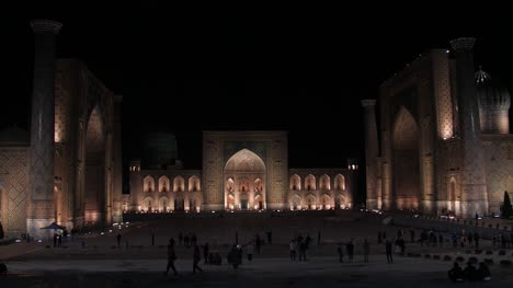 Registan-Square-at-Night
