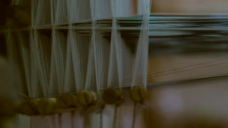 Silk-on-a-Loom-Close-Up
