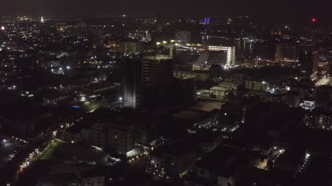 Building-Construction-at-Night-Lagos-Drone-04