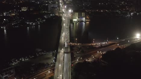 City-Roads-at-Night-Nigeria-Drone-05