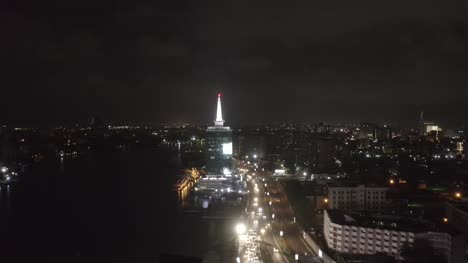 Civic-Centre-at-Night-Nigeria-Drone-01