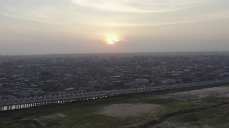 Town-at-Dusk-Nigeria-Drone-02