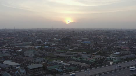 Town-at-Dusk-Nigeria-Drone-03