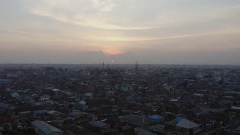 Town-at-Dusk-Nigeria-Drone-10