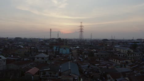 Town-at-Dusk-Nigeria-Drone-11