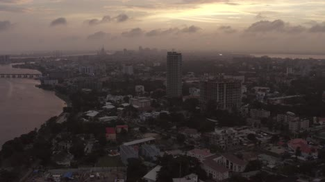 Lagos-Sunset-Drone-08