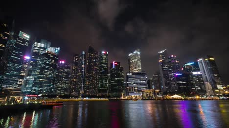 Singapore-Financial-District-at-Night