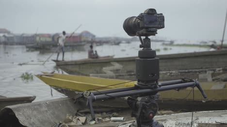Camera-Filming-Makoko-Community-Nigeria-