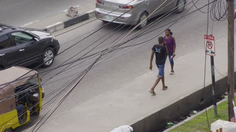 Pedestrians-on-Pavement-Nigeria-