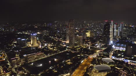 City-at-Night-Drone-Singapore-01