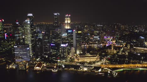 City-at-Night-Drone-Singapore-02