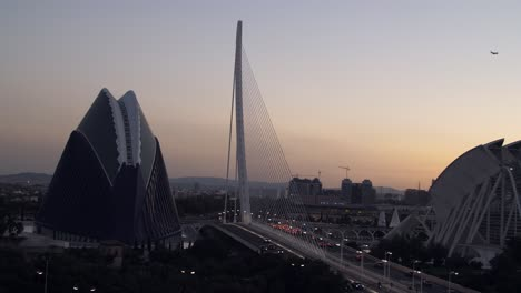 Agora-Building-Valencia-at-Dusk