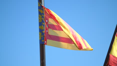 Valencian-Flag-Waving