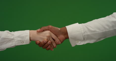 CU-Two-people-shake-hands-on-green-screen