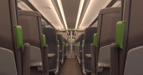 Looking-down-aisle-of-empty-train