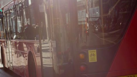 London-Bus-In-A-Central-London-Street