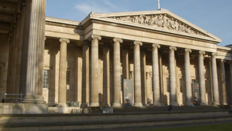 Pan-Of-Main-Entrance-Of-The-British-Museum-London