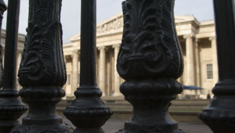 The-British-Museum-London-Through-Railings