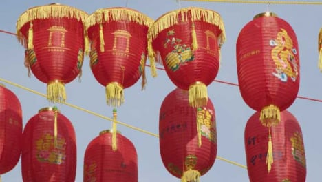 Chinese-Lanterns-In-Chinatown-London