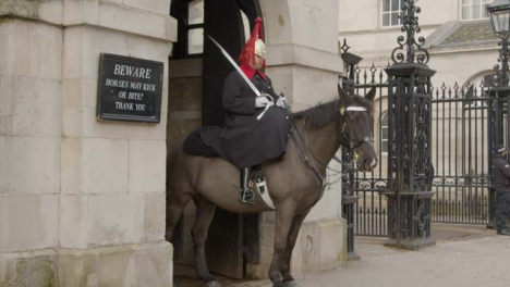 Horse-Guard-On-Duty-At-Whitehall-Central-London-