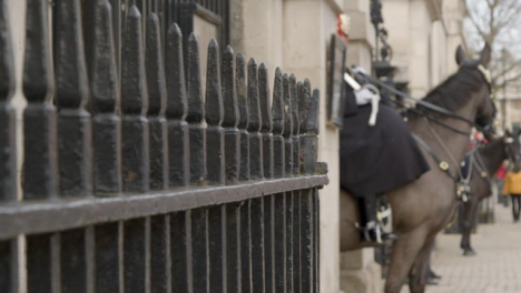 Pan-of-Horse-Guards-Of-The-Household-Cavalry-On-Duty-At-Whitehall