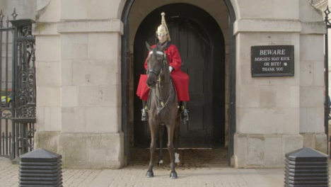 Horse-Guards-On-Duty-At-Whitehall