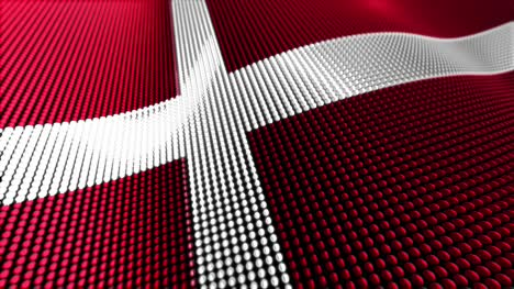 Denmark-Motion-Particle-Flag-4K