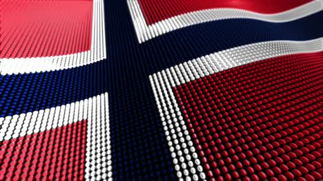 Norway-Motion-Particle-Flag-4K