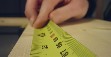Tape-Measure-And-Marking-Wood