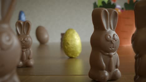 Tracking-in-to-Chocolate-Bunnies-and-Easter-Eggs-Scene