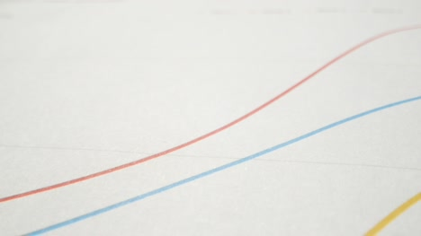 Extreme-Close-Up-Pie-Chart-and-Line-Graphs-on-Paper