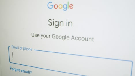 Close-Up-Google-Sign-In-Webpage
