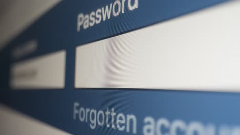Close-Up-Pan-Typing-Password-in-Facebook-Login