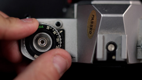 Flat-Lay-Extreme-Close-Up-ISO-Wheel-Retro-Camera