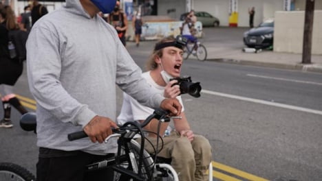 Hollywood-Protester-in-Wheelchair-Shouting-at-Police-During-Protest
