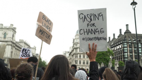 London-Black-Lives-Matter-Signs-Held-in-the-Air