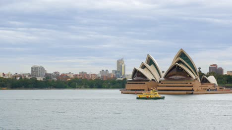Ferry-and-Boat-Passing-Sydney-Opera-House