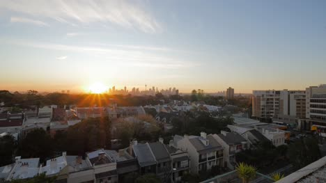 View-of-Bondi-Cityscape-at-Sunset