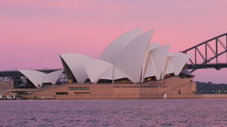 Sydney-Opera-House-at-Dawn-with-Pink-Sky