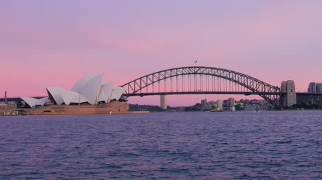 Pink-Sky-with-Sydney-Opera-house-and-Bridge